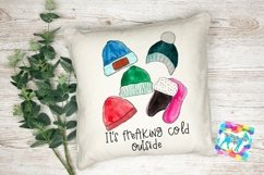 Watercolor Winter Hat Illustrations Product Image 2