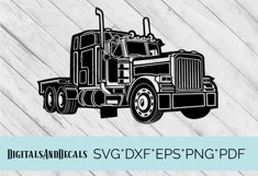 Truck, Lorry, HGV  SVG Cutting File  Product Image 1