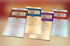 Anniversary Gala Ticket Template Product Image 5