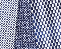 Navy Blue Digital Paper Japanese Background Patterns Product Image 4