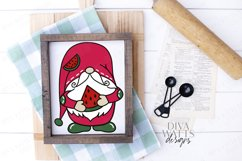 Watermelon Gnome - Summer - Cutting File - SVG DXF EPS Product Image 3