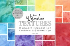 88 Hi-Res Seamless Watercolor Textures Product Image 1