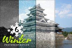 6 Winter Photoshop Action Product Image 6
