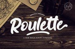 Roulette - Bold Script Font Product Image 1