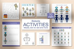 Robots Activities for kids. Product Image 1