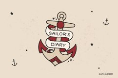 Sailors Diary Sans Tattoo Style Font Product Image 6