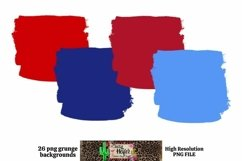 Patriotic July 4th Background for Dye Sublimation Product Image 2