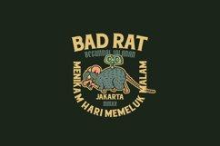 Bad Rat Logo Template Product Image 3
