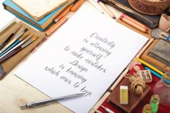 ESCALADE modern calligraphy Product Image 5