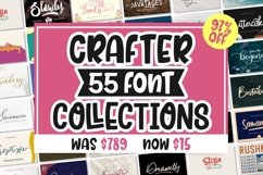 BEST CRAFTER FONT COLLECTIONS Product Image 1