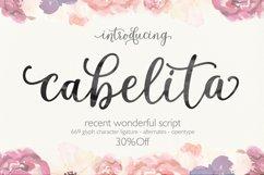 Cabelita Script Product Image 1