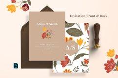 Leaf & Floral Wedding Suite Product Image 2