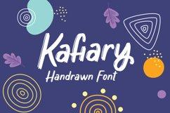 Kafiary - Handrawn Font Product Image 1