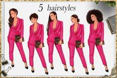 Fashion Girlboss Clipart Product Image 4