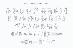 Objectives SVG Brush Font Product Image 4