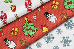 Merry Christmas Stickers Bundle. Over 100 clipart and BONUS! Product Image 5
