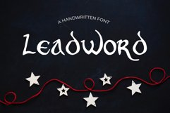 Leadword Font Product Image 1