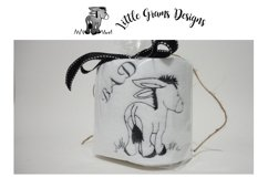 Toilet Paper Bad Donkey Embroidery Design Product Image 1