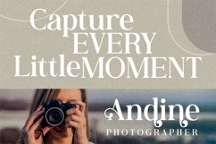 Andine - Beautiful Serif Font Product Image 8