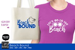 Beach Bound - Beach SVG and Cut Files for Crafters Product Image 2