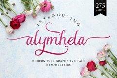 Alymhela Beautiful Script Product Image 1