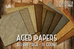 Aged Papers Digital Papers Product Image 1