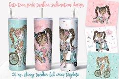 Skinny tumbler Png. Cute fashion teen girls. Skinny tumbler Product Image 1