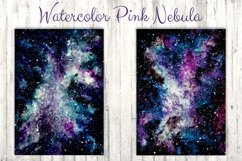Watercolor Pink Nebula Collection Product Image 4