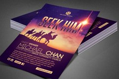 Seek Him Church Flyer Template Product Image 6