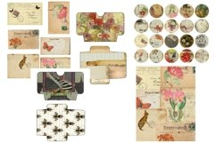 House and Garden Vintage Journal Scrapbook Kit PDF Product Image 3