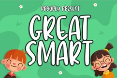 Great Smart Font Product Image 1