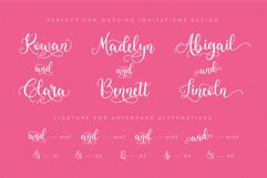 Loveliest Calligraphy Font Product Image 5