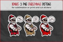Cool Christmas Bundle for Crafters - Bikers, Gnomes & Skulls Product Image 3