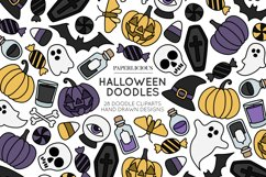 Halloween Doodle Cliparts Product Image 1