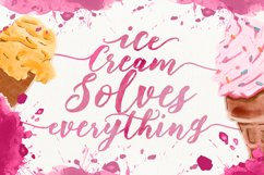 Floweress - Hand Painted Brush Font Product Image 2