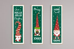 Christmas gnomes porch signs. Svg cutting files bundle. Product Image 3