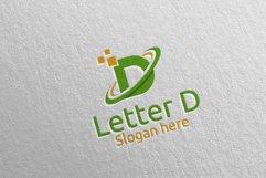 Letter D Digital Marketing Financial Logo 74 Product Image 2