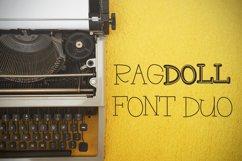 RAGDOLL Font Duo - Stamp Typewriter Font  Product Image 1