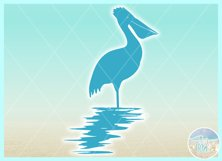 Birds In Water Silhouette Bundle Svg Dxf Eps Png PDF Product Image 5
