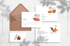 Artisan Abstract Wedding Invitation Suite Product Image 3