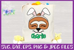 Easter | Sloth Face SVG Cut File Product Image 2