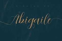Abigaile Script Font Product Image 5