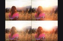 Golden light photoshop overlays Product Image 3