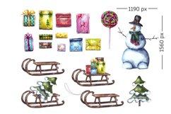 ChristmasElfGnomesSnowmanSantaSleighSantaSack Product Image 3