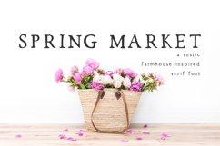 Spring Market - Rustic Serif Font Product Image 1