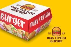 Spicy Burger - Delicious Unique Font Product Image 3