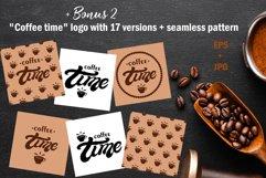 Coffee time Set. Coffee menu design Product Image 5