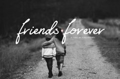 Friends Forever Font & Floral Extras Product Image 1