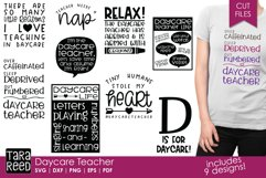 Daycare Teacher - Daycare SVG and Cut Files for Crafters Product Image 1