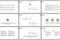 Clarity Company Minimal PowerPoint Template Product Image 6